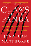 Claws of the Panda by Jonathan Manthorpe