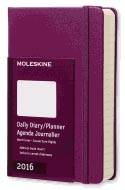Moleskine 2016 Daily Planner Pocket Mauve Purple (3.5 X 5.5)