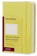 Moleskine 2016 Daily Planner Pocket Hay Yellow (3.5 X 5.5)